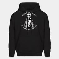 Hoodie sweatshirt Every politician is a human disease