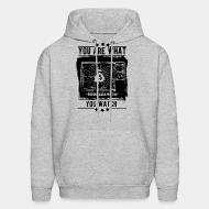 Sweat (Hoodie) You are what you watch - propaganda machine