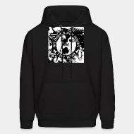 Hoodie sweatshirt The Mob - No doves fly here