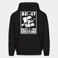 Sweat (Hoodie) AK-47 - Rated E for Everyone