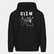 Sweat (Hoodie) GISM - punks is hippies