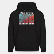 Sweat (Hoodie) Sin Dios - Alerta antifascista