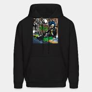 Hoodie sweatshirt Acidez - Don't ask for permission