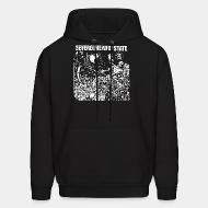 Hoodie sweatshirt Severed Head Of State