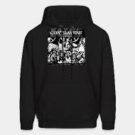 Hoodie sweatshirt Contravene - A call to action
