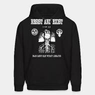 Sweat (Hoodie) Resist And Exist - Peace cannot exist without liberation