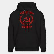 Sweat (Hoodie) Red action antifa