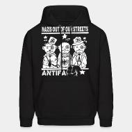 Sweat (Hoodie) Nazis out of our streets - antifa