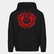 Sweat (Hoodie) Red Warriors skinheads