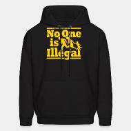 Sweat (Hoodie) Refugees welcome - no one is illegal