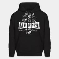 Sweat (Hoodie) Antifascista! No borders, no nations.