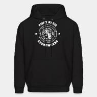 Sweat (Hoodie) Fight nazis everywhere - our music, our lives - no place for racism