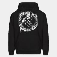 Sweat (Hoodie) Anti fascist action giessen asozial