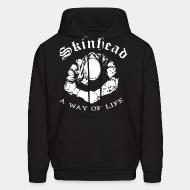 Hoodie sweatshirt Skinhead a way of life