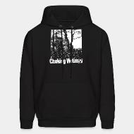Hoodie sweatshirt Choking Victim - Squattas paradise