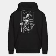 Sweat (Hoodie) Makhnovtchina - Death to all who stand in the way of obtaining the freedom of working people!