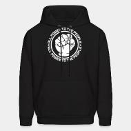 Sweat (Hoodie) All power to the people