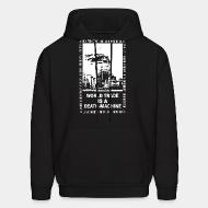 Hoodie sweatshirt Leftover Crack - World trade is a death-machine