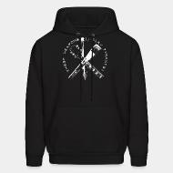 Hoodie sweatshirt These weapons slay tyrants!