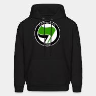 Hoodie sweatshirt Antispeciesist action
