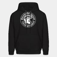 Hoodie sweatshirt Skinheads Against Racial Prejudice (SHARP)
