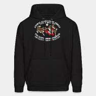 Sweat (Hoodie) Animal Liberation Front antifa division - equality among peoples, equality among species