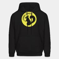 Hoodie sweatshirt Animal liberation
