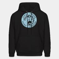 Hoodie sweatshirt Human freedom - animal liberation - autonomy