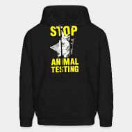 Sweat (Hoodie) Stop animal testing