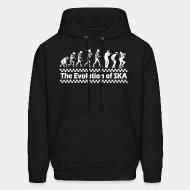 Hoodie sweatshirt The evolution of SKA