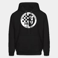 Hoodie sweatshirt Music is life, live a fun one - listen to ska