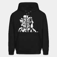 Hoodie sweatshirt Protect respect animal rights