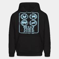 Sweat (Hoodie) Meat free zone