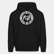 Sweat (Hoodie) Good night white pride