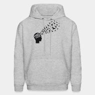 Hoodie sweatshirt Free your mind