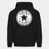 Hoodie sweatshirt Atheist all star - free thinker
