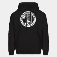Hoodie sweatshirt Veganarchist - all different, all equal