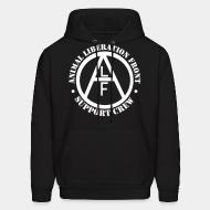 Sweat (Hoodie) ALF Animal Liberation Front support crew