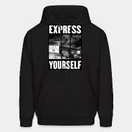 Sweat (Hoodie) Express yourself