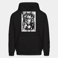 Hoodie sweatshirt A.C.A.B. I'm gonna fuck u up just because i can