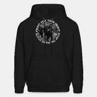 Hoodie sweatshirt Fight for your right stop the police state