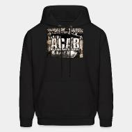 Hoodie sweatshirt ACAB All Cops Are Bastards