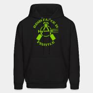 Hoodie sweatshirt Resistance is fertile