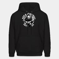 Hoodie sweatshirt Red & Anarchist SkinHeads