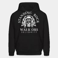 Sweat (Hoodie) Standing rock warriors solidarity