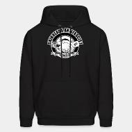Hoodie sweatshirt Skinheads antifascist - fight nazi scum
