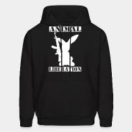 Sweat (Hoodie) Animal liberation