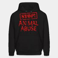 Sweat (Hoodie) Stop animal abuse