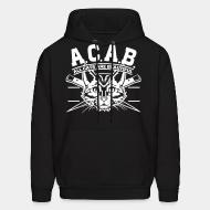 Hoodie sweatshirt A.C.A.B. All Cats Are Beautiful