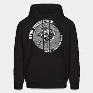 Sweat (Hoodie) Stop vivisection - animal liberation now!!!